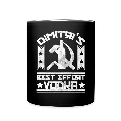 vodkavintagewhite - Full Color Mug
