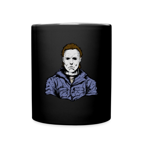 Horror Legend Masked Psycho Crazed Killer - Full Color Mug