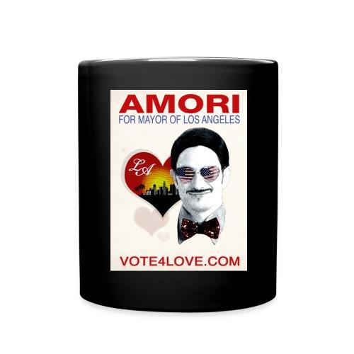 Amori for Mayor of Los Angeles eco friendly shirt - Full Color Mug