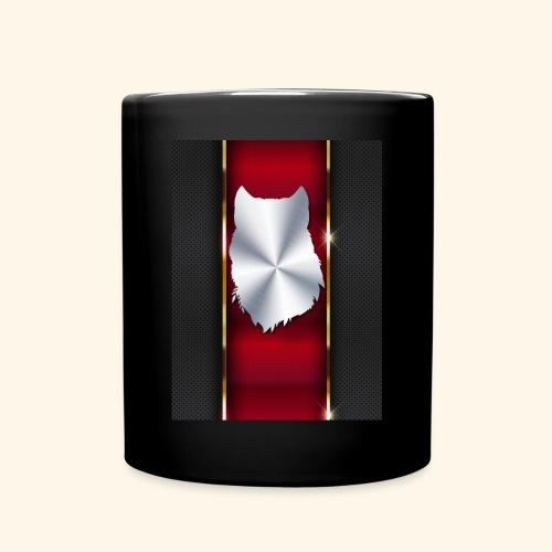 Wolf White Metallic iphone case - Full Color Mug
