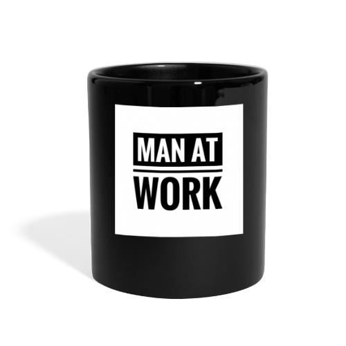 Man At Work - Full Color Mug