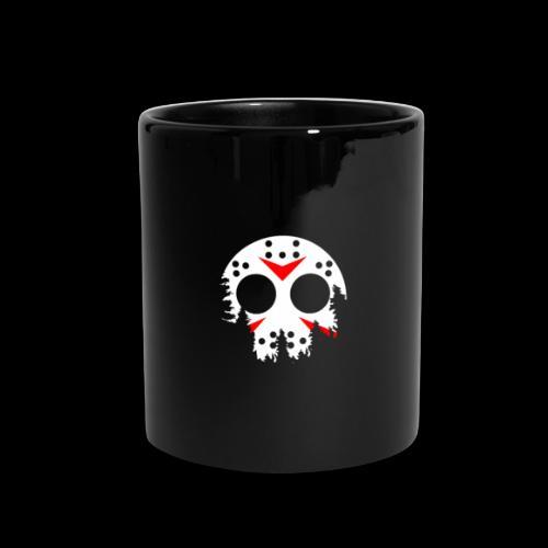 Haunted Halloween Hockey Mask - Full Color Mug