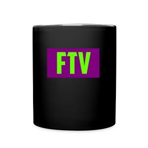Green and Purple Mugs and MousePads - Full Color Mug