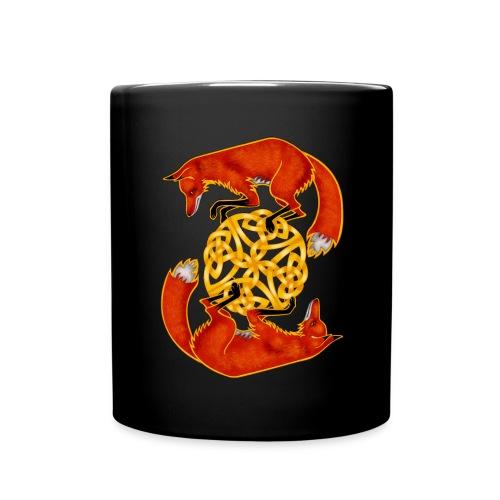 Circling Foxes - Full Color Mug