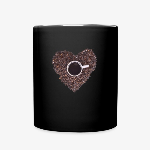 I Heart Coffee Black/White Mug - Full Color Mug