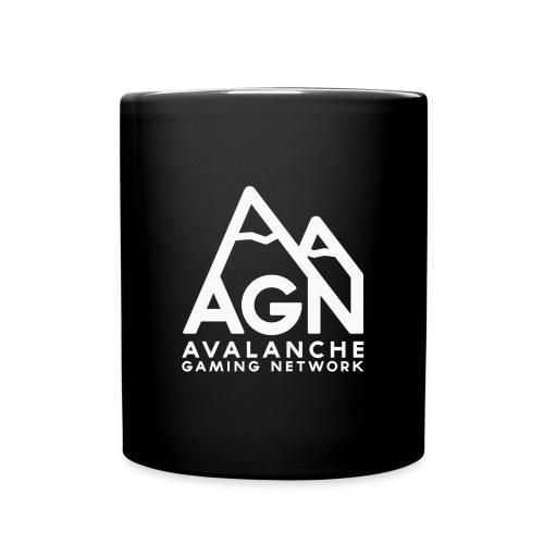 AGN White Logo Hoodie - Full Color Mug