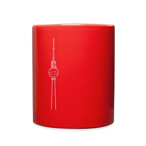 Berlin TV Tower - Full Color Mug