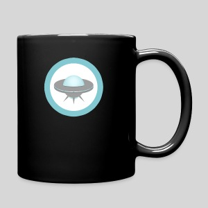 ALIENS WITH WIGS - Small UFO - Full Color Mug