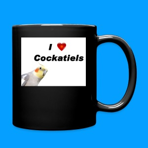 Cockatiels - Full Color Mug