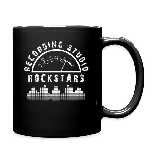 Recording Studio Rockstars - White Logo - Full Color Mug
