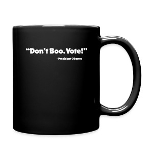 Dont_Boo_Vote_White_Trans_BG - Full Color Mug