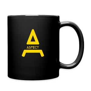 Limited Edition Gold Aspect Logo Sweatshirt - Full Color Mug