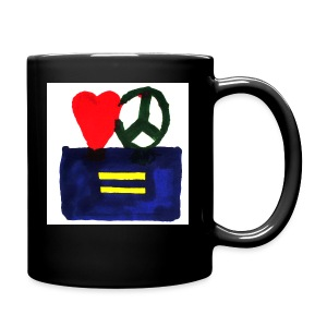 Peace, Love and Equality - Full Color Mug