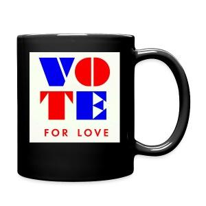vote4love-sample - Full Color Mug