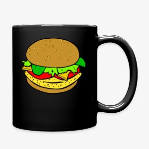 Comic Burger - Full Color Mug
