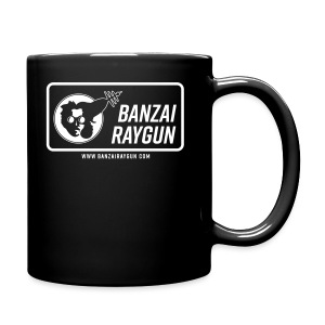 Banzai Raygun Rectangle Logo - Full Color Mug