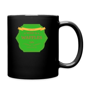 WEED & WAFFLES - Full Color Mug