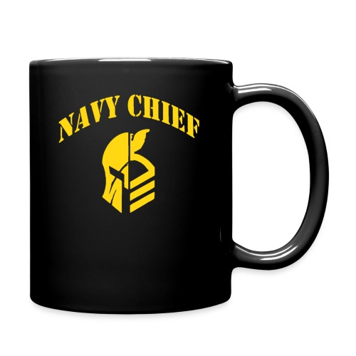 US Navy Chief CPO Warrior - Full Color Mug