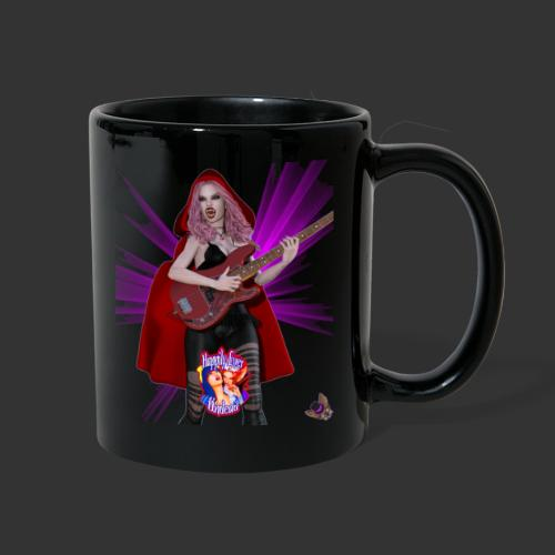 Happily Ever Undead: Blood Red Hood Bassist - Full Color Mug