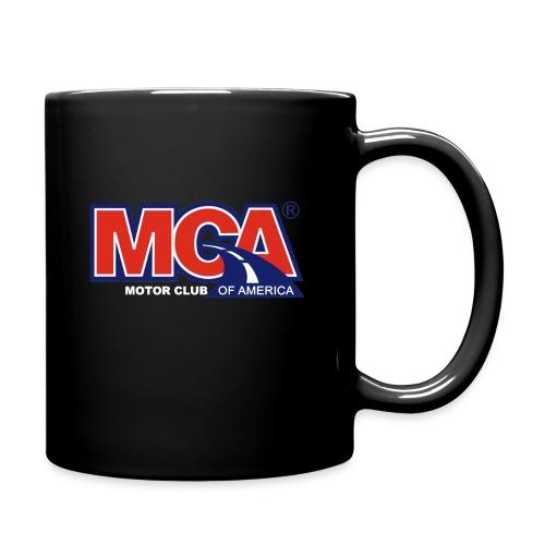 MCA Logo WBG Transparent WHITE TITLEfw png - Full Color Mug