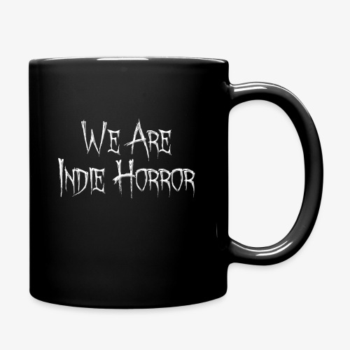 We Are Indie Horror Text Only png - Full Color Mug
