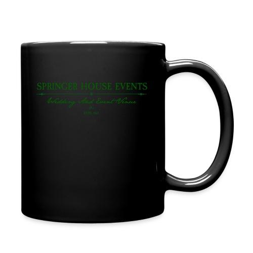 Springer House Events Sign Green - Full Color Mug