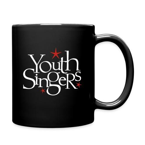 ysc logo words vertical white - Full Color Mug