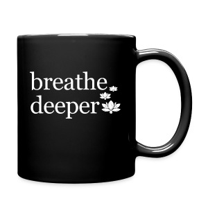 Breathe Deeper Lotus - Full Color Mug