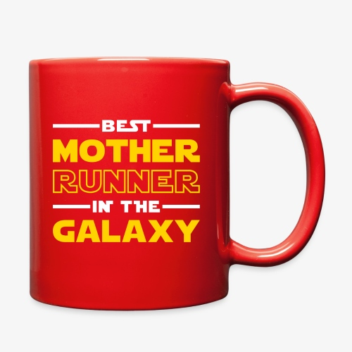 Best Mother Runner In The Galaxy - Full Color Mug