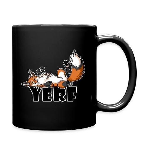 Lazy YERF FOX / FOXES - Full Color Mug