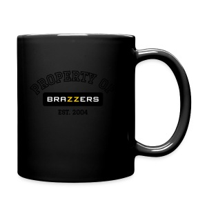 Property of Brazzers logo outline - Full Color Mug
