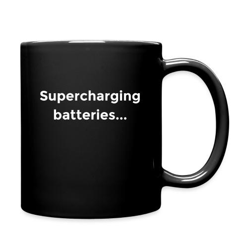 Supercharging batteries... - Full Color Mug