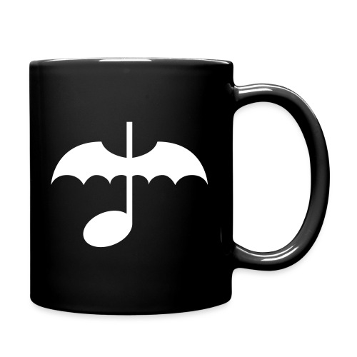 Music Note with Bat Wings - Full Color Mug