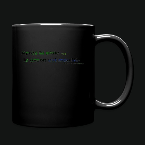 WET GRASS - Full Color Mug