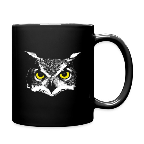 Owl Head - Full Color Mug