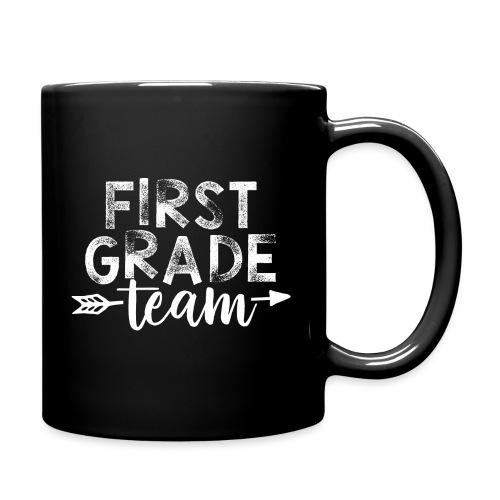 First Grade Team Arrow Teacher T-Shirts - Full Color Mug