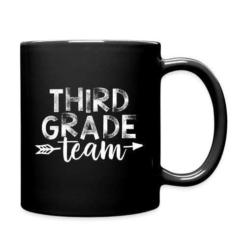 Third Grade Team Arrow Teacher T-Shirts - Full Color Mug