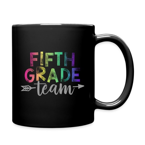 Fifth Grade Team Teacher T-Shirts Rainbow - Full Color Mug