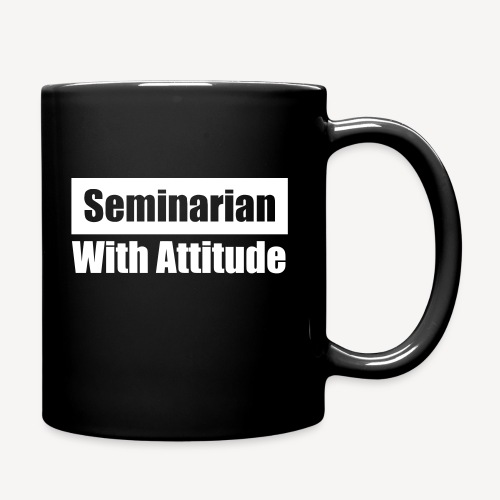 SEMINARIAN WITH ATTITUDE - Full Color Mug