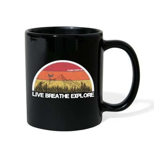 Live Breathe Explore Mountain - Full Color Mug