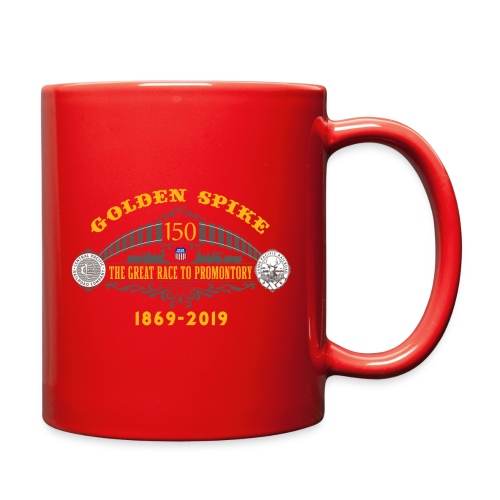 Golden Spike Color UP Logo - Full Color Mug