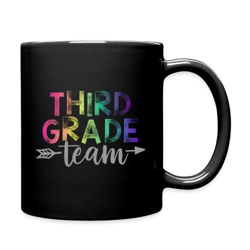 Third Grade Team Teacher T-Shirts Rainbow - Full Color Mug