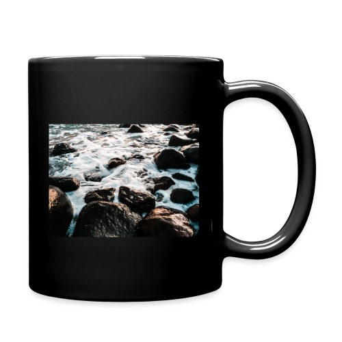 Rocks at the beach - Full Color Mug