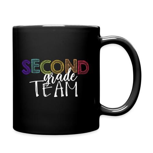 Second Grade Team Grade Level Team Teacher T-Shirt - Full Color Mug