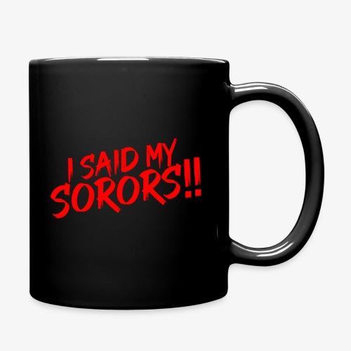 My Sorors Red - Full Color Mug
