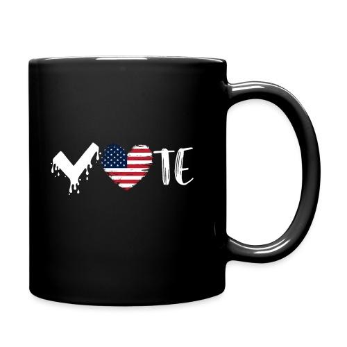 Vote Heart - Full Color Mug