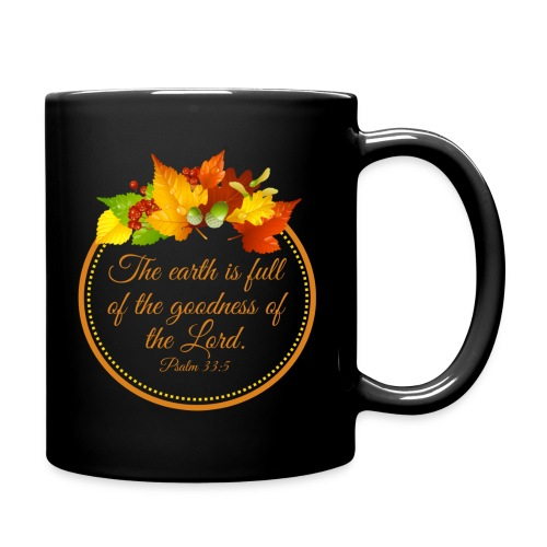 Psalm 33:5 - Full Color Mug
