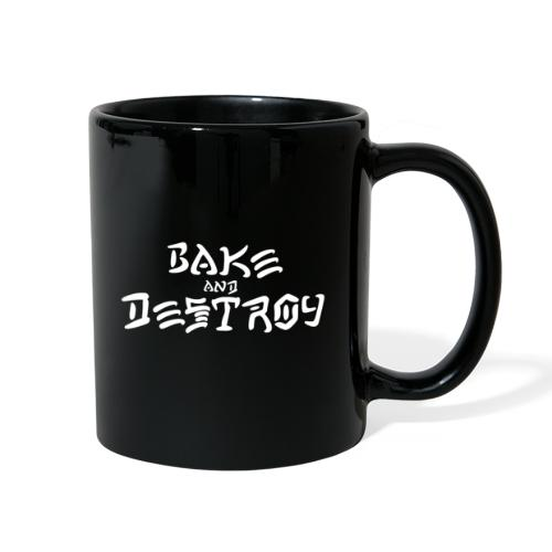 Vintage Bake and Destroy - Full Color Mug