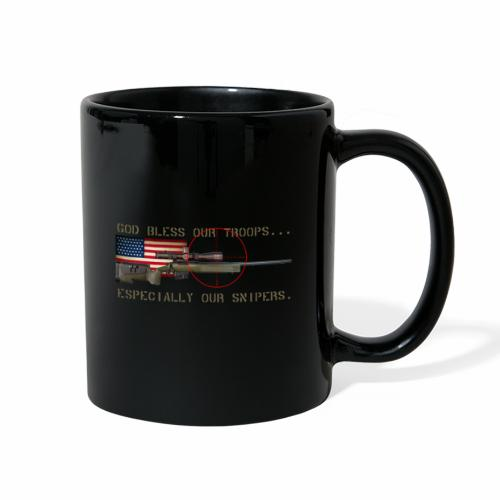 God Bless Our Snipers - Full Color Mug