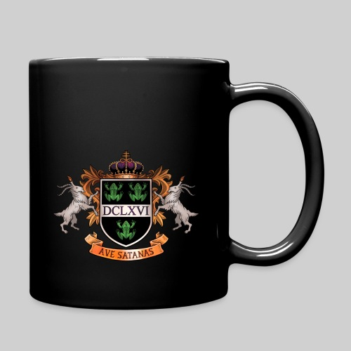 Satanic Heraldry - Coat of Arms - Full Color Mug